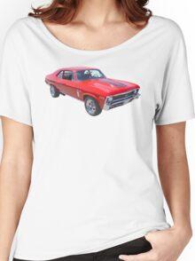 1969 Chevrolet Nova Yenko 427 Muscle Car Women's Relaxed Fit T-Shirt