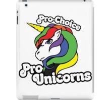 PRO CHOICE PRO UNICORNS  iPad Case/Skin