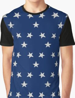 Stars, seamless, pattern,  Graphic T-Shirt