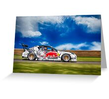 Mazda RX7 Drift Greeting Card