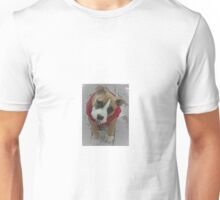 Puppy Topopo in the snow Unisex T-Shirt