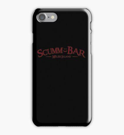 Monkey Island - Scumm Bar  iPhone Case/Skin