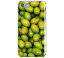 Pile of green olives iPhone Case/Skin