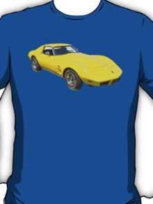 1975 Corvette Stingray Muscle Car T-Shirt