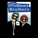 The Super Mario Blues Brothers by macaulay830