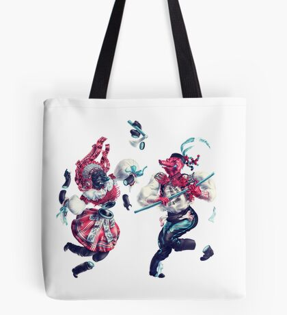 Trickster Dancers Tote Bag