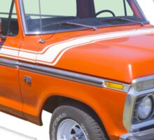 1975 Ford F100 Explorer Pickup Truck Sticker