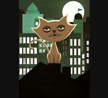 Metropolitan rooftop cat  Unisex T-Shirt