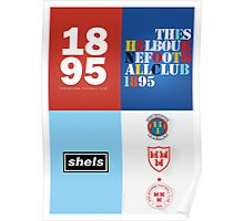 SHELBOURNE FC COLLAGE - PRINT Poster