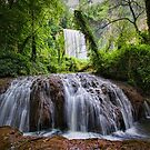 Stone River Waterfall 2 by Unai Ileaña