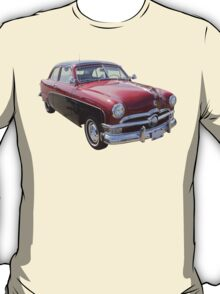 1950 Ford Custom Deluxe Classsic Car T-Shirt