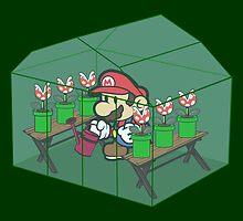 Super Mario Gardeners by macaulay830