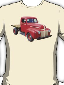 1947 Ford Flat Bed Antique Pickup Truck T-Shirt