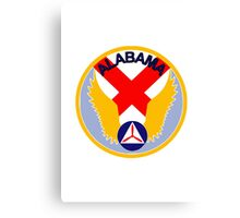 Alabama Wing Civil Air Patrol Canvas Print