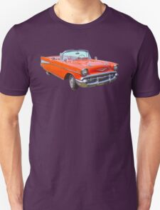 1957 Chevrolet Bel Air 2-door Convertible Antique Car Unisex T-Shirt