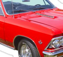 1966 Chevrolet Chevelle Convertible 283 Muscle Car  Sticker