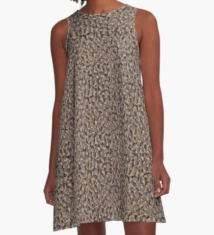 The Wild Mud Cliff A-Line Dress