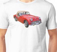 1957 Triumph TR3 Convertible Sports Car Unisex T-Shirt