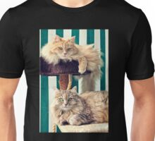 Cesare & Cleo on the tree Unisex T-Shirt