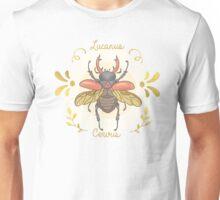 Lucanus cervus Unisex T-Shirt