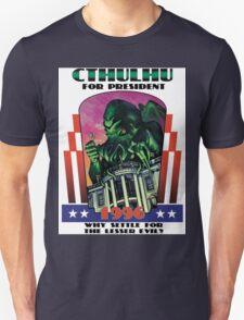 Retro CTHULHU FOR PRESIDENT 1996 T-Shirt Unisex T-Shirt