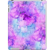 Pink Alcohol Ink Abstract iPad Case/Skin