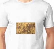 In the honor to the great art masters through the history-Leonardo Da Vinci Unisex T-Shirt