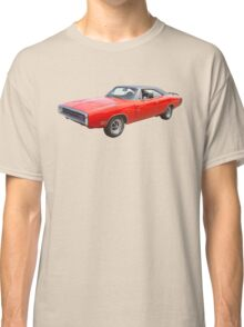 Red 1970 Dodge Charger R/t Muscle Car Classic T-Shirt