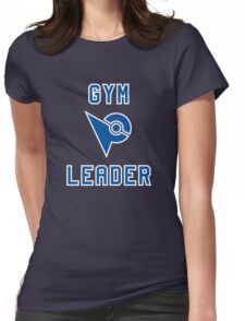 Pokemon Go Gym Leader - Blue Mystic Womens Fitted T-Shirt