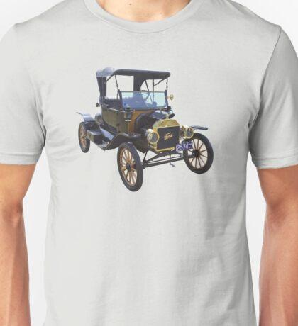 1914 Model T Ford Antique Car Unisex T-Shirt