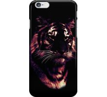 tiger, colored tiger iPhone Case/Skin