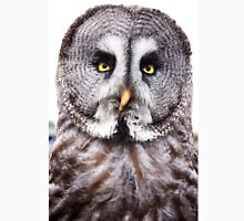 Marley the Great Grey Owl Unisex T-Shirt