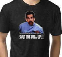 Happy Gilmore - Shut the hell up Tri-blend T-Shirt