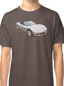2007 Chevrolet Corvette C6 Convertible Muscle Car Classic T-Shirt