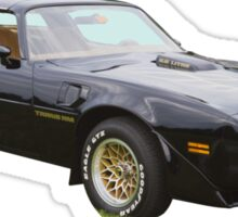 1980 pontiac Trans Am Muscle Car Sticker