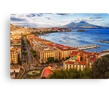 The gulf of Naples Canvas Print