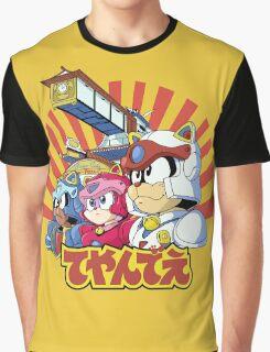 Samurai Pizza Caaaats! Graphic T-Shirt