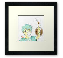 Little Warrior Framed Print