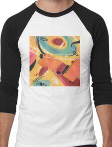 Tangerine Men's Baseball ¾ T-Shirt