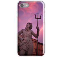 Neptune and his fork iPhone Case/Skin