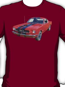 Red 1966 Ford Mustang Fastback T-Shirt