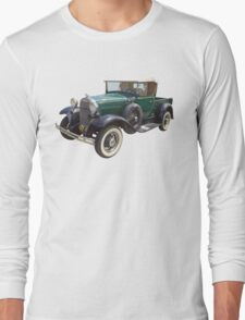 1930 Ford Model A Antique Pickup Truck Long Sleeve T-Shirt
