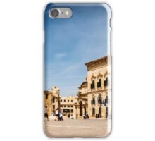 Castille Place, Valletta iPhone Case/Skin