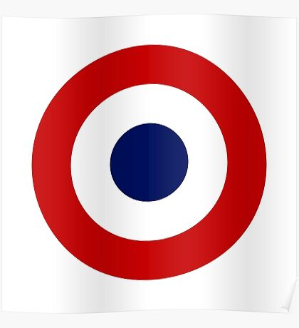 French Air Force - Roundel Poster