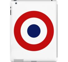 French Air Force - Roundel iPad Case/Skin