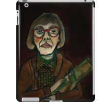 MY LOG SAW SOMETHING THAT NIGHT - from 'The Peaks' range iPad Case/Skin