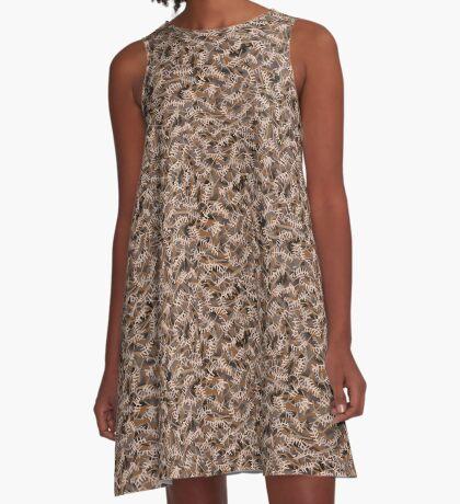 The Wild Fern A-Line Dress