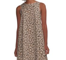The Wild Fern A-Line Dress