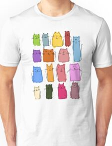 Cute cats, childish style. Unisex T-Shirt