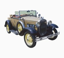 1931 Ford Model A Cabriolet Antique Car Kids Tee